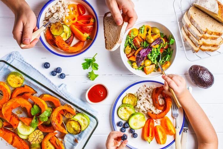رژیم رایگان 1600 کیلو کالری هفت روزه کاهش وزن با دستور پخت غذاهای رژیمی